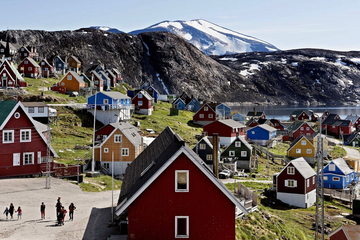 Grönland nem eladó