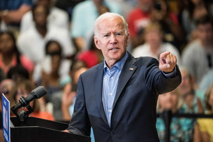 Joe Biden a demokraták legesélyesebb befutójának tartja magát