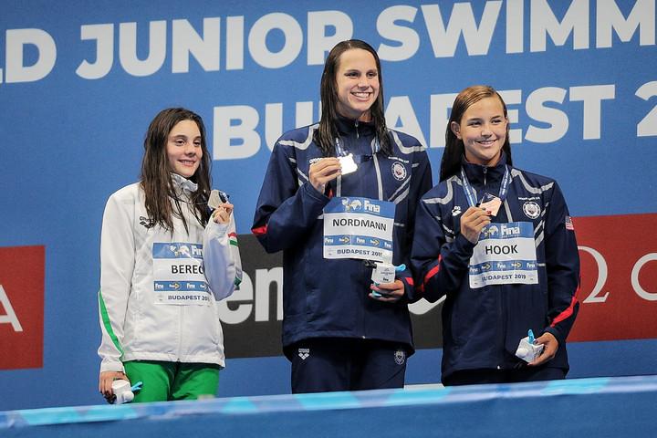 Berecz Blanka ezüstérmes 200 méter pillangón