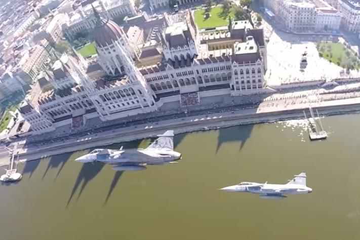 A légi parádé előkészületeikor nagyobb lehet a zaj Budapest fölött