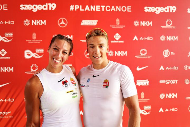Kopasz Bálint és Csipes Tamara is aranyérmes kajak egyes 1000 méteren