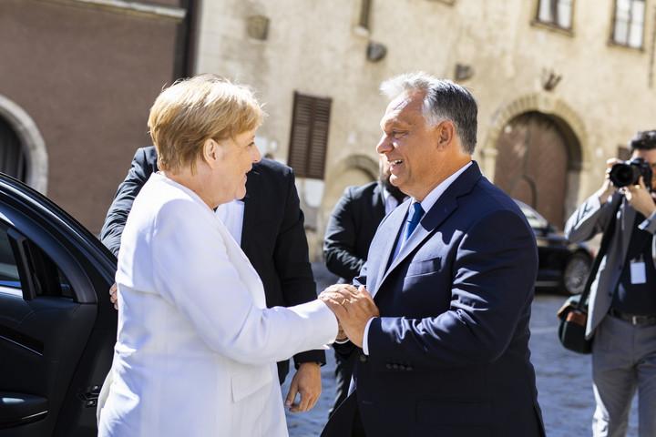 Merkel: Köszönet Magyarországnak a német egység megteremtéséhez való hozzájárulásáért