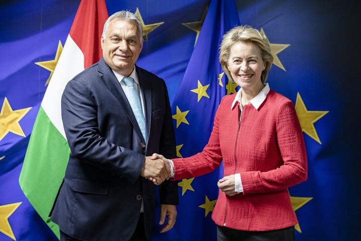 Orbán Viktor: Jó döntés volt Ursula von der Leyen támogatása