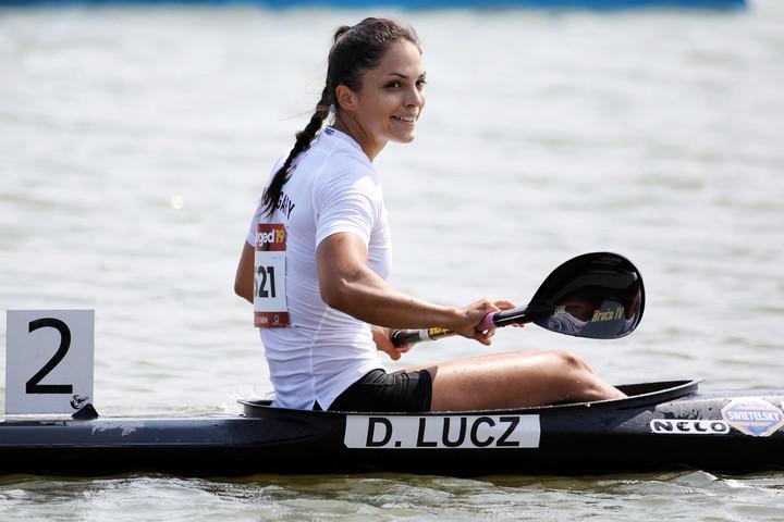 Lucz Dóra hatodik lett kajak egyes 200 méteren