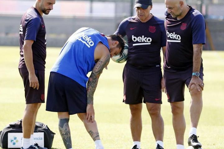 Messi megsérült, kihagyja a Barca amerikai túráját