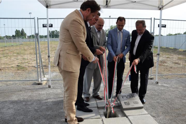 Mintegy 4,6 milliárd forintból valósul meg sportinfrastruktúra-fejlesztés Pécsett