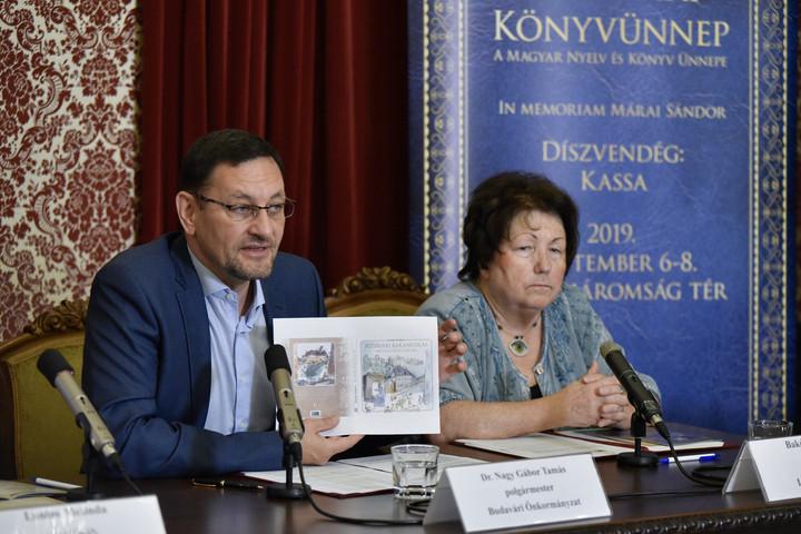 Budavári Könyvünnep Kassa és Márai jegyében
