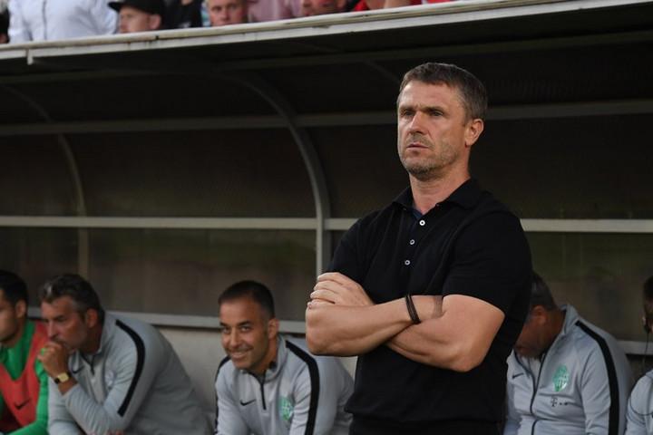 Szerhij Rebrov az idény legjobb edzője