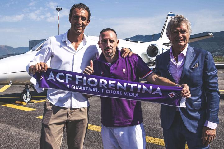 Olaszországban folytatja Franck Ribéry