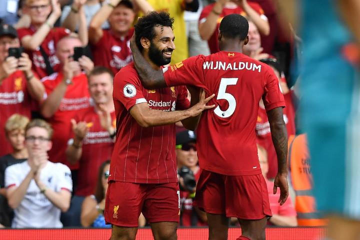 Szalah duplázott, a Liverpool legyőzte az Arsenalt