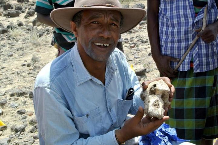 Egy 3,8 millió évvel ezelőtt élt emberelőd koponyáját tárták fel Etiópiában