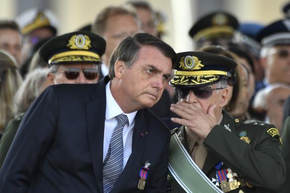 Bolsonaro óva intette a nagyhatalmakat a brazil belügyekbe való beavatkozástól
