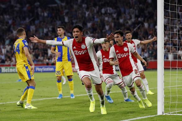 Bejutott a Bajnokok Ligája csoportkörébe az Ajax