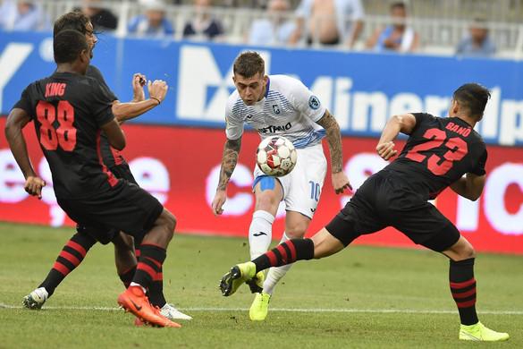 Európa Liga: Botrányos meccsen, tizenegyesek után esett ki a Honvéd