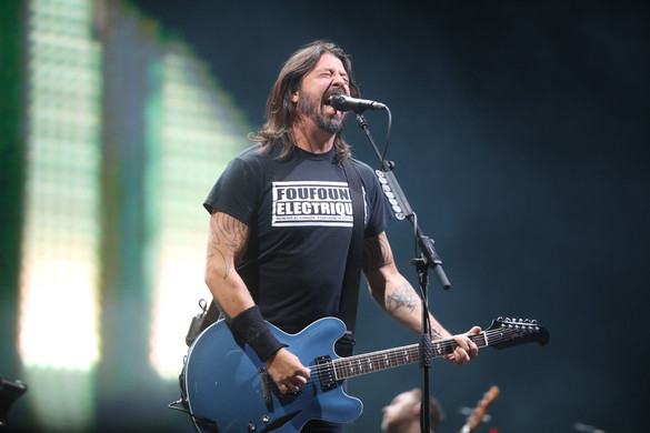 Videón a Foo Fighters szigetes koncertjének csúcspontja