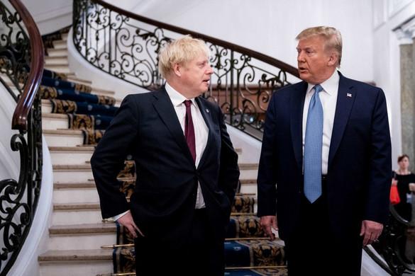 Trump: Johnson éppen a megfelelő ember a Brexit végrehajtására