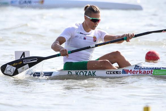 Kozák Danuta túltette magát a tegnapi kizáráson, továbbjutott 500 méter egyesben