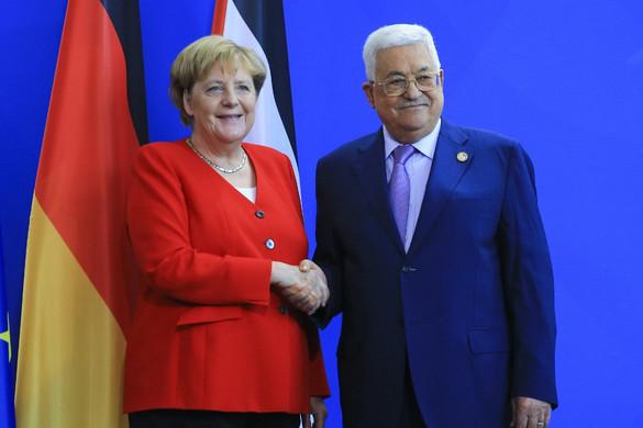 Merkel: Továbbra is a kétállami megoldásra kell törekedni a palesztin-izraeli konfliktus rendezésében