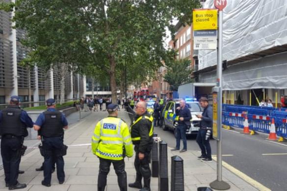 Késelés történt a brit belügyminisztérium közelében