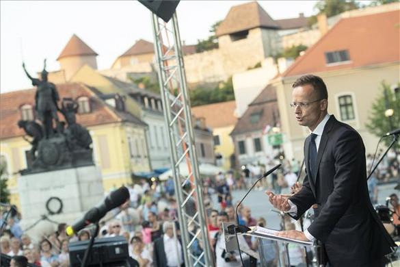 Szijjártó: A magyar állam Európa egyik legrégebbi állama