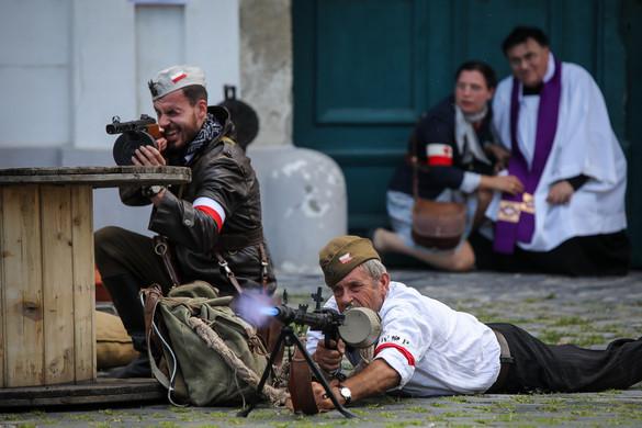 """""""W"""" óra, a varsói felkelés"""