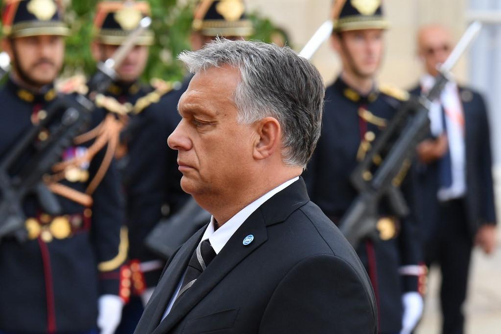 Orbán Viktor magyar kormányfő  is részt vett a búcsúztatáson