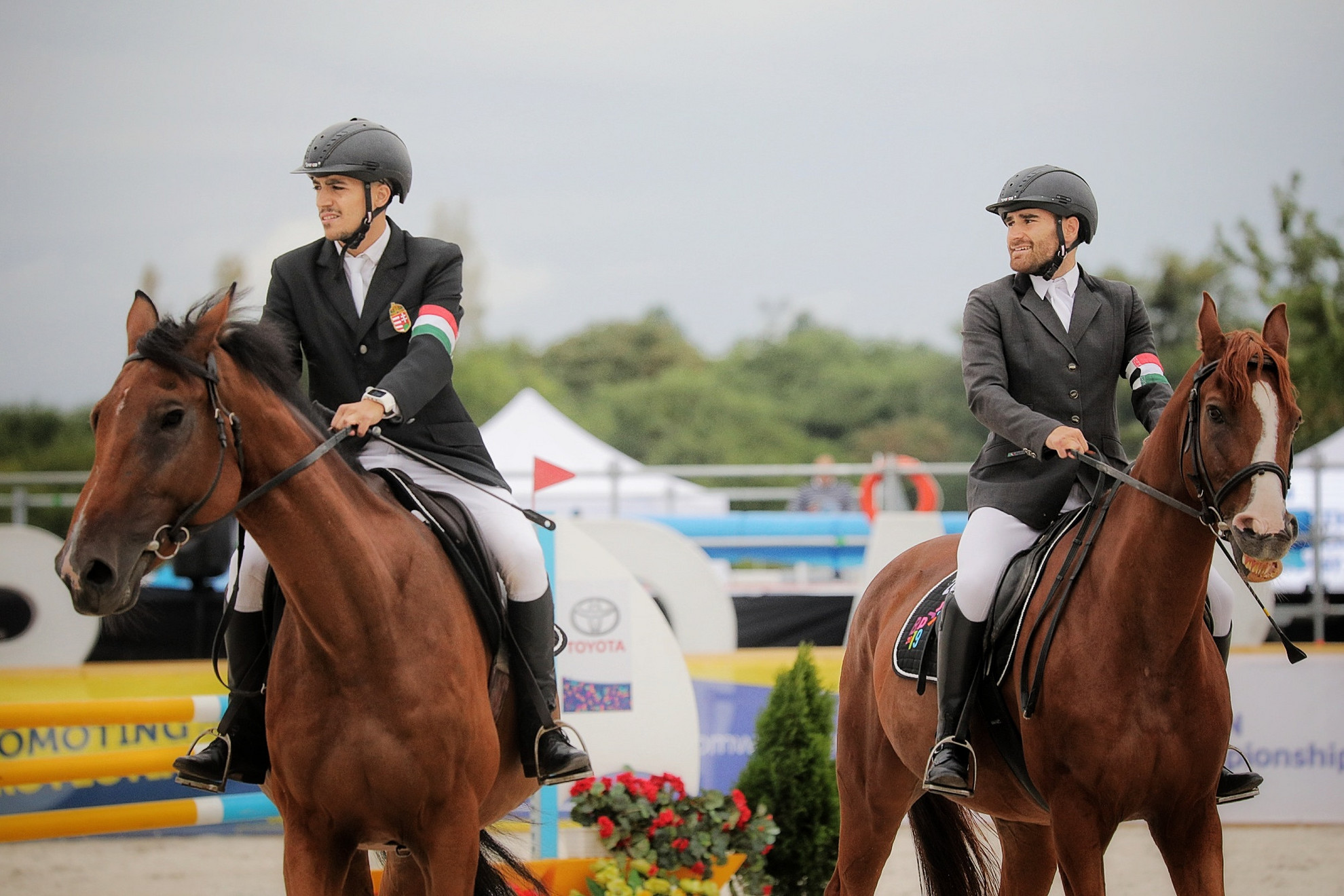Bereczki (balra) és Málits egy hónapja Eb-bronzérmet nyert, a világbajnokságot azonban nem sikerült az élmezőnyben zárniuk