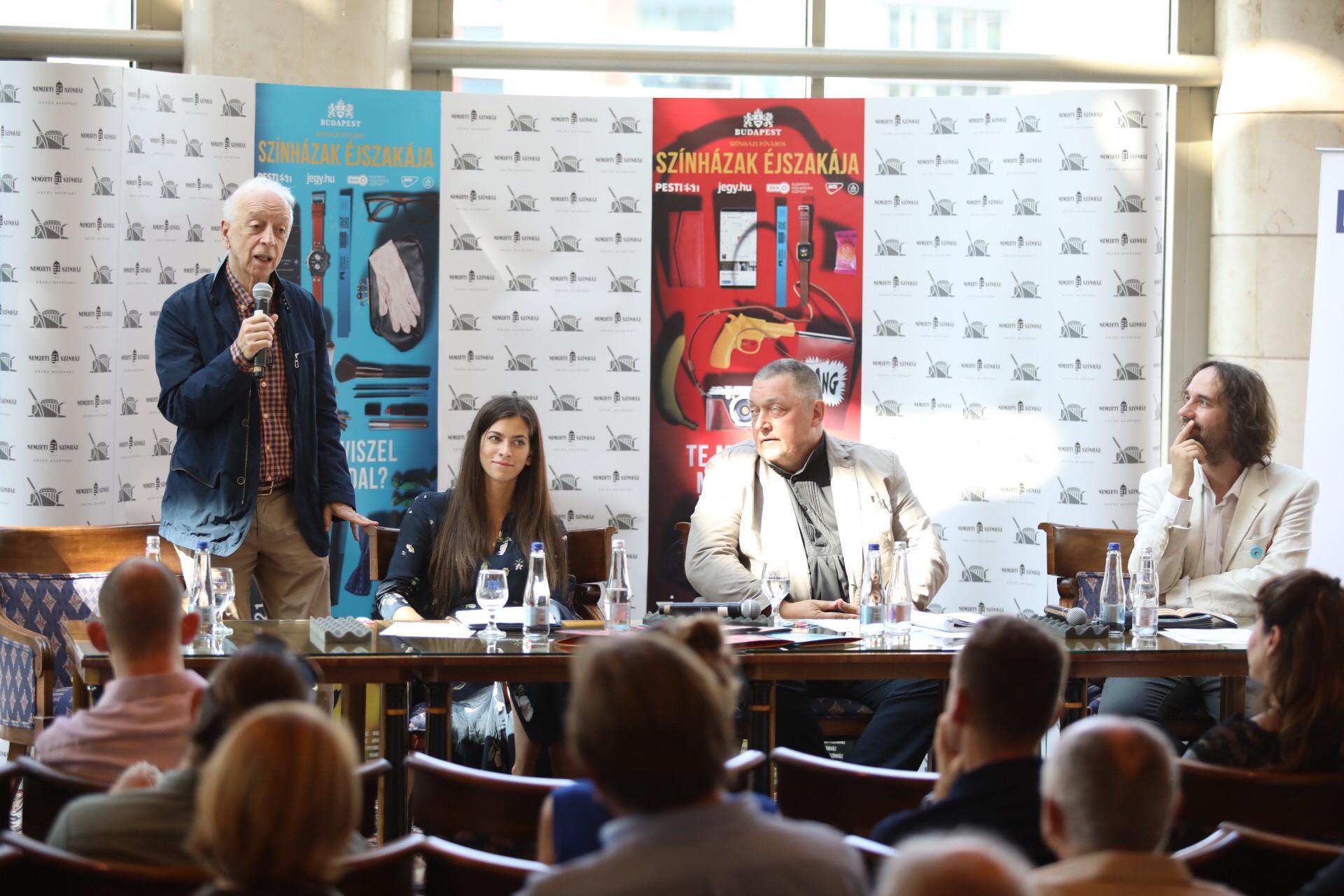 Szirtes Tamás (b): A Színházak éjszakája azért ilyen sikeres rendezvény, mert egyaránt szeretik a nézők és a színházban dolgozók is