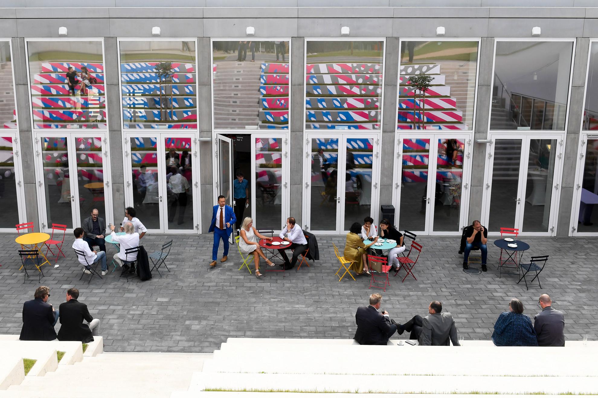 A Moholy-Nagy Művészeti Egyetem új campusa Budapesten 2019. szeptember 6-án