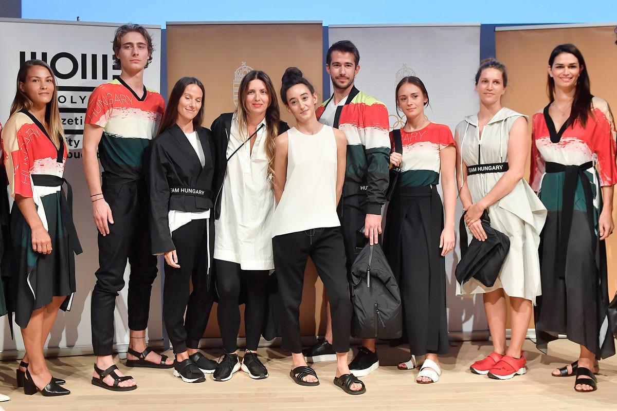 A NUBU öltözteti a magyar olimpikonokat