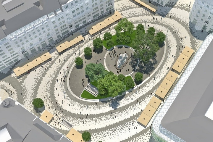 Újra a járókelőké a teljesen megújított Vörösmarty tér
