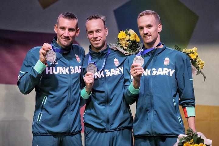 Ezüstérmes a magyar férfi csapat az öttusa-világbajnokságon
