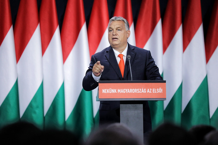 Orbán Viktor: Létrehoztunk egy magyar kereszténydemokrata államot