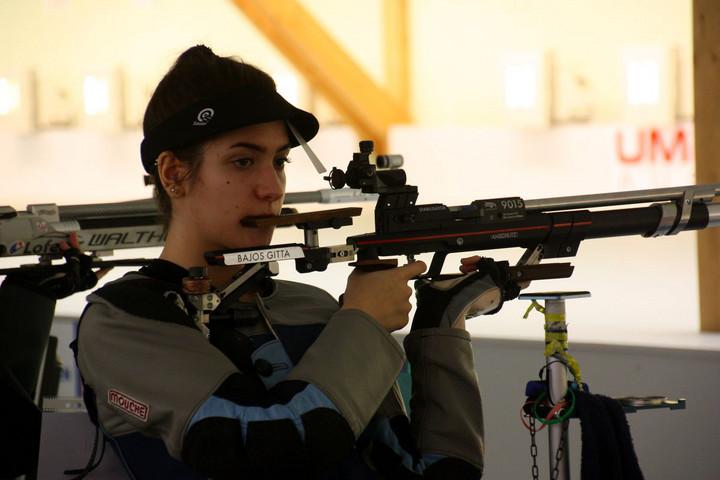 Bajos Gitta bronzérmes a sportlövő-Eb-n