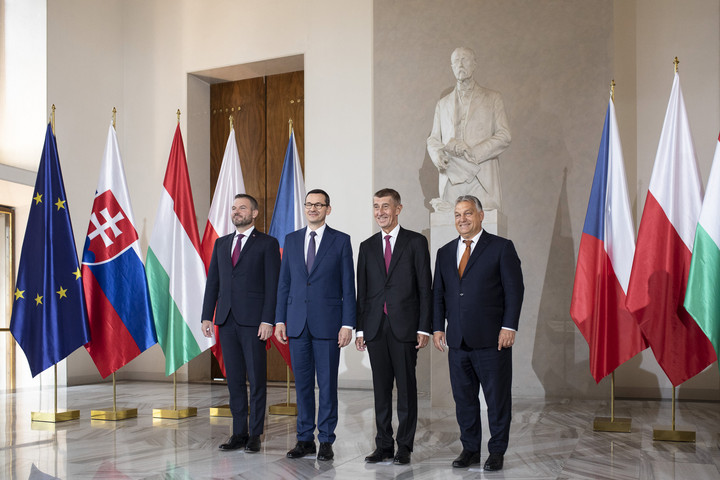 Orbán: Megnőtt a V4-ek ereje