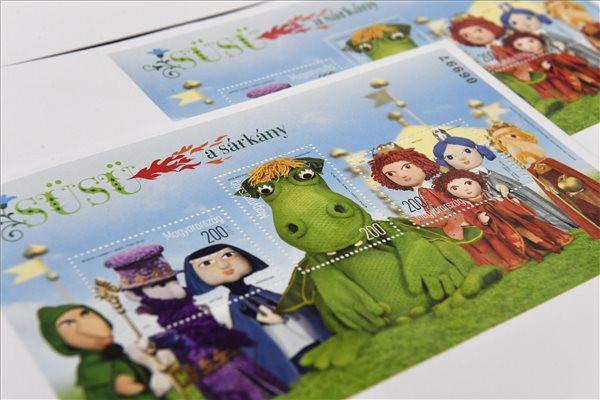 A Süsü, a sárkány szereplőiről készült bélyeget bocsátottak forgalomba