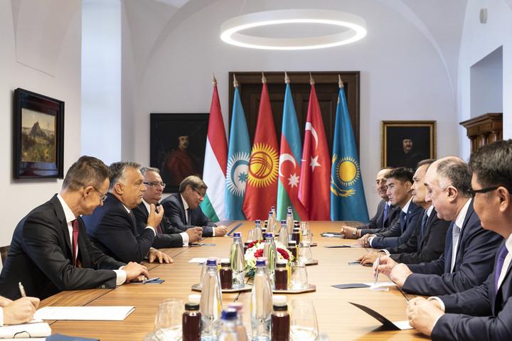 Orbán Viktor így fogadta a Türk Tanács külügyminisztereit