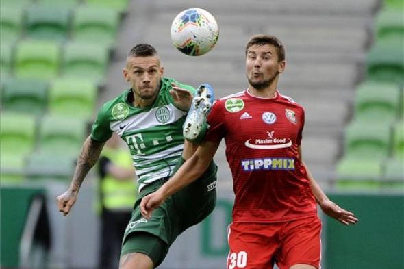 Leandro góljával nyert a címvédő Ferencváros
