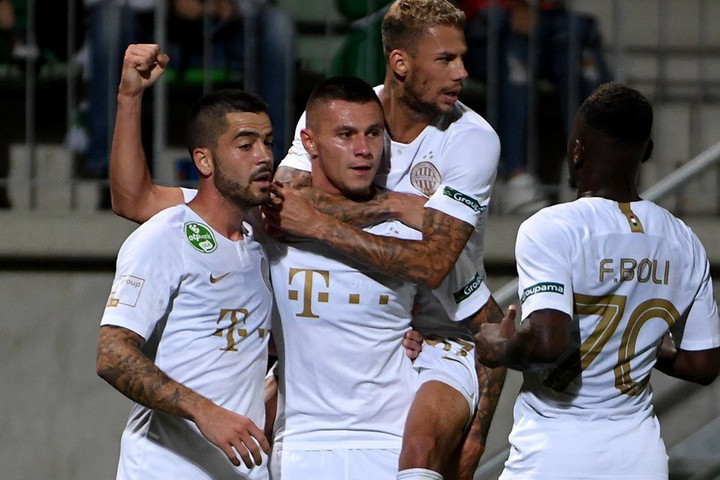 Idegenben ütötte ki a Paksot a Ferencváros