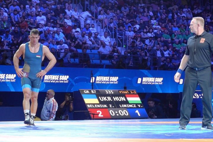 Birkózás: Lőrincz Viktor világbajnoki ezüstérmes