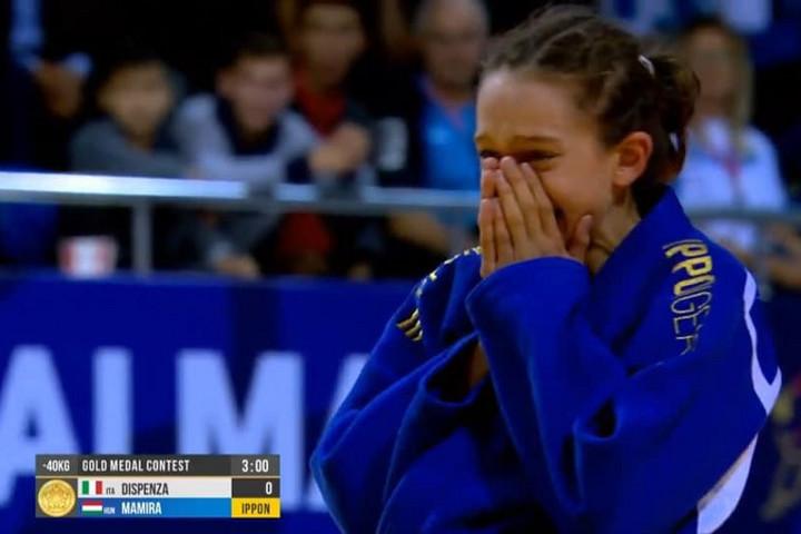 Mamira Luca aranyérmes az ifjúsági cselgáncs-vb-n