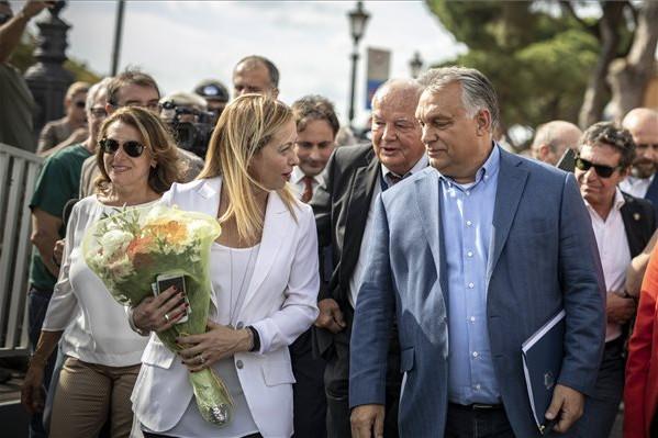 Orbán gratulált Meloninak