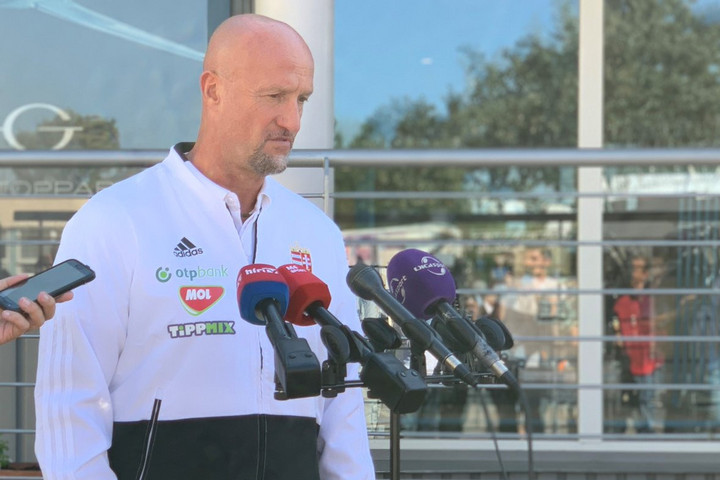 Marco Rossi még nem gondol a szlovákok elleni meccsre
