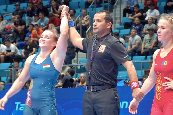 Birkózás: Sastin és Muszukajev is elődöntős a vb-n