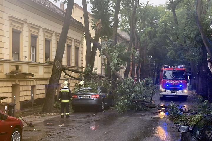 Brutális vihar tombolt Szegeden