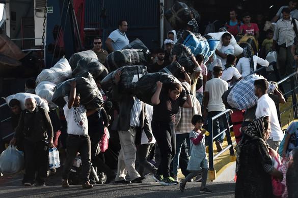 Leszbosz menekülttábora bejelentette:  nem tud több embert befogadni