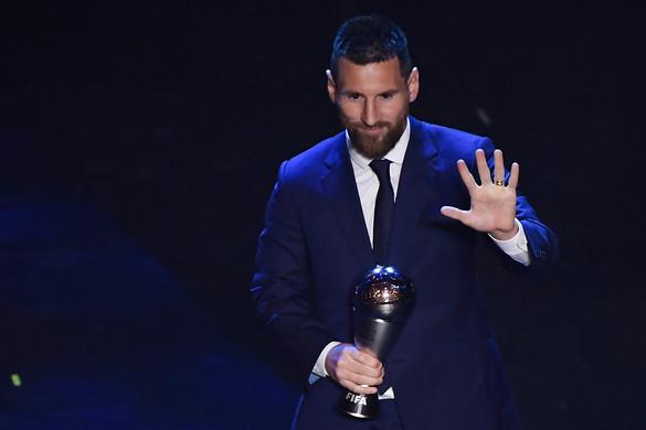 Lionel Messi lett az Év Labdarúgója