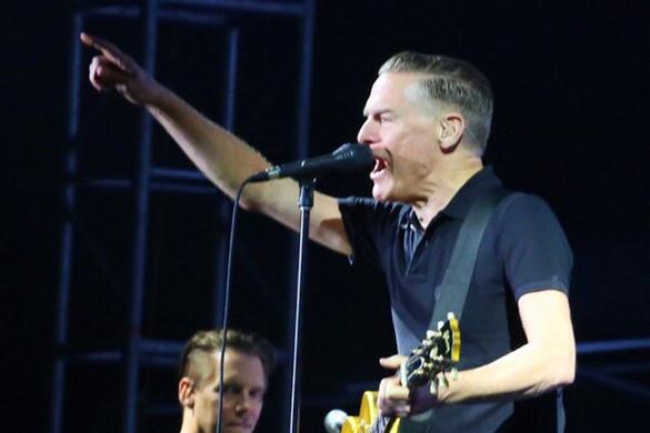 Bryan Adams-koncert a Hősök terén