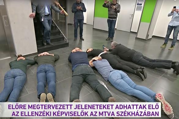 Ellenzéki provokáció az MTVA-nál