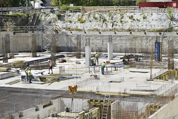 Tovább pörög az építőipar az országban